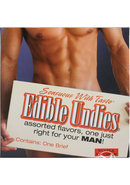 Edible Undies Male Brief Vanilla Flavored (1 Pack)