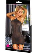 Vip Mini Dress - Black Metallic