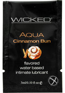 Wicked Aqua Water Based Lube Cinnamon...